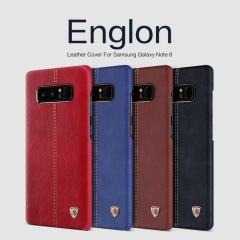 Samsung Galaxy Note 8 Englon Leather Cover