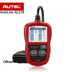 NEW Autel Autolink AL319 Auto-Diagnosescan-Tool / Codeleser MIL ausschalten / Patentierte One-Click-I / M Readiness Key