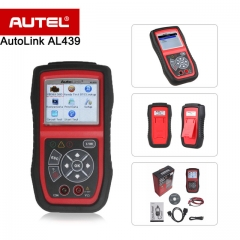 NEW Autel Autolink AL439 OBD2 OBDII Scanner / Codeleser Die patentierte One-Click-I / M Readiness Key Multimeters AVO Meter