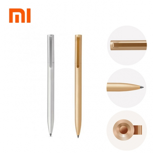 Xiaomi Mijia Metal Sign Pens PREMEC Smooth Switzerland Refill 0.5mm Signing Pens Mi Aluminum Alloy Pens