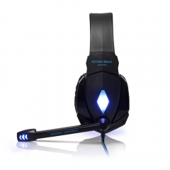 G4000 Casques Gaming Large Headphone avec Light Mic Stéréo Écouteurs Deep Bass pour PC Computer Gamer Laptop PS4 New x-BOX