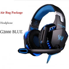 G2000 Casques Gaming Large Headphone avec Light Mic Stéréo Écouteurs Deep Bass pour PC Computer Gamer Laptop PS4 New x-BOX