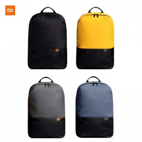 Xiaomi Simple Casual Backpack 20L Grande Capacité 450g Super Light Innovative Waterproof Side Pockets Laptop Backpack
